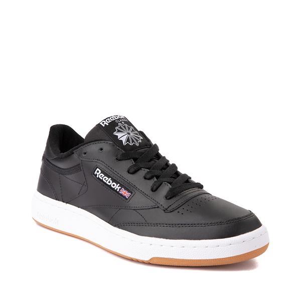 alternate view Mens Reebok Club C 85 Athletic Shoe - Black / GumALT5
