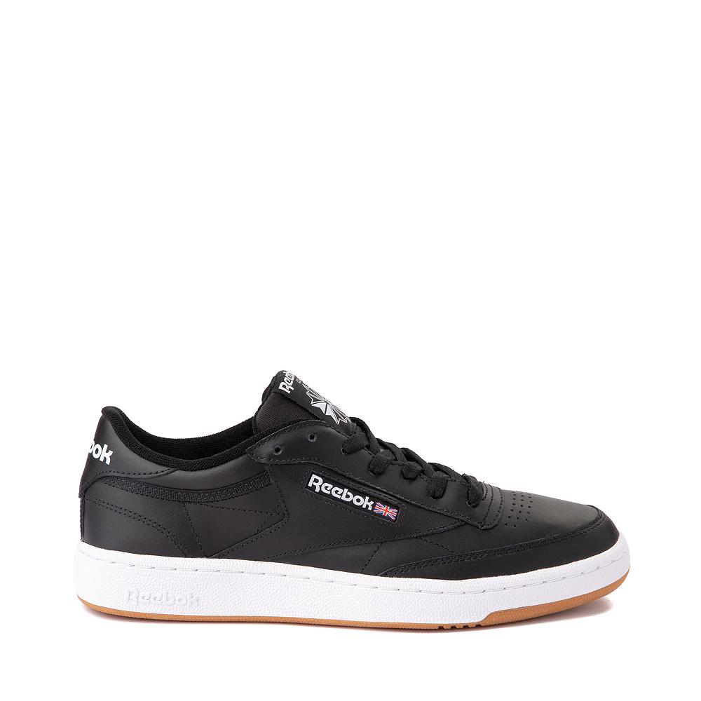Mens Reebok Club C 85 Athletic Shoe - Black / Gum
