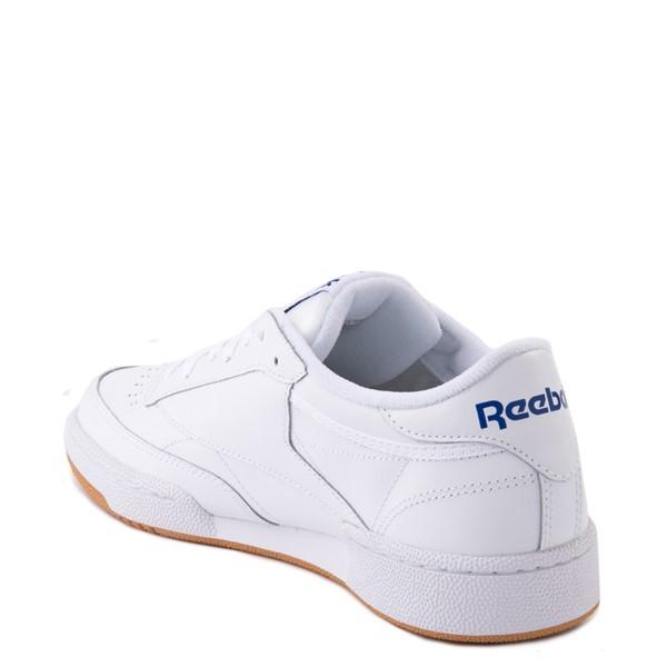 alternate view Mens Reebok Club C 85 Athletic Shoe - White / Royal Blue / GumALT1