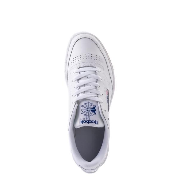 alternate view Mens Reebok Club C 85 Athletic Shoe - White / Royal Blue / GumALT4B
