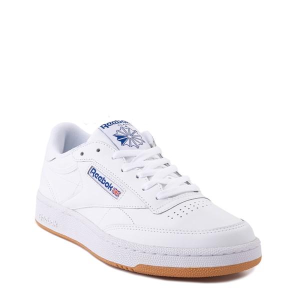 alternate view Mens Reebok Club C 85 Athletic Shoe - White / Royal Blue / GumALT5
