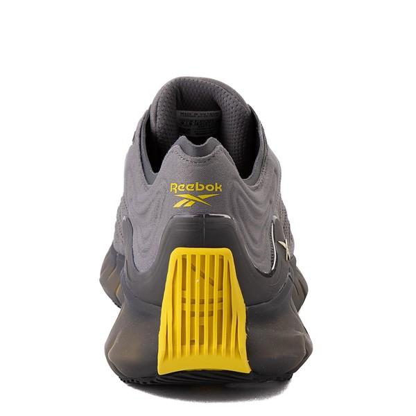 alternate view Mens Reebok Zig Kinetica Athletic Shoe - Gray / YellowALT2B