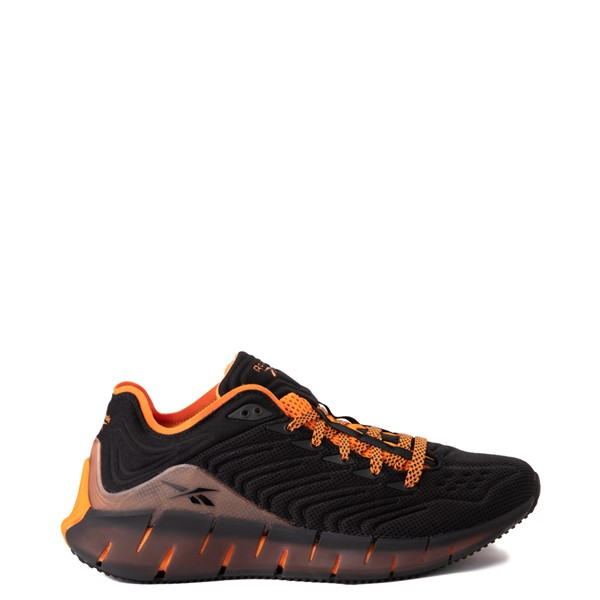 Mens Reebok Zig Kinetica Athletic Shoe - Black / Orange