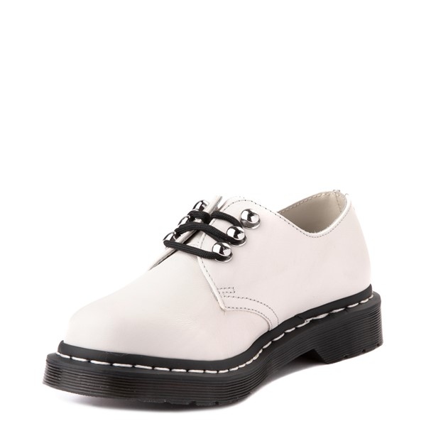 alternate view Womens Dr. Martens 1461 Casual Shoe - WhiteALT3