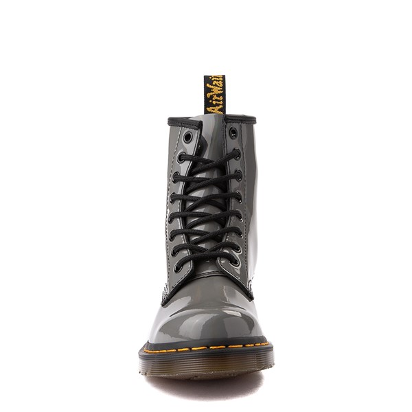 alternate view Womens Dr. Martens 1460 8-Eye Patent Boot - Silver RainbowALT4