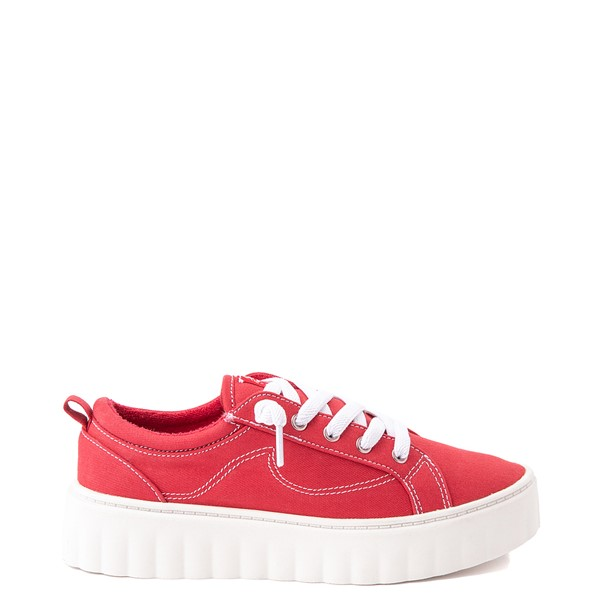 Womens Roxy Sheilahh Platform Casual Shoe - Red