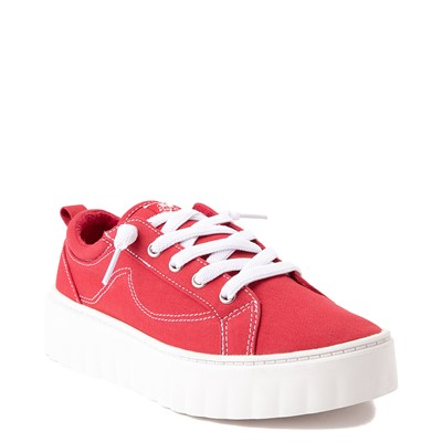 Alternate view of Womens Roxy Sheilahh Platform Casual Shoe - Red