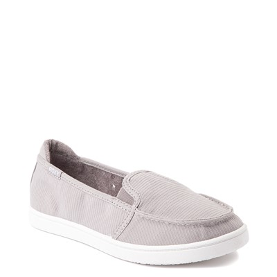 Alternate view of Womens Roxy Minnow Slip On Casual Shoe - Gray