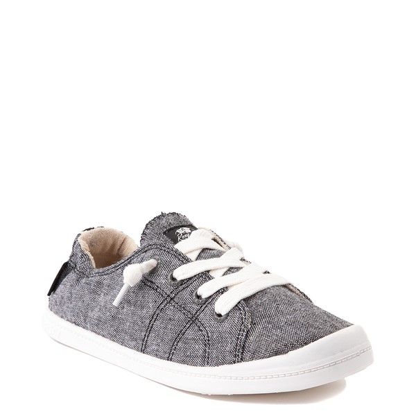 alternate view Womens Roxy Bayshore Casual Shoe - BlackALT5