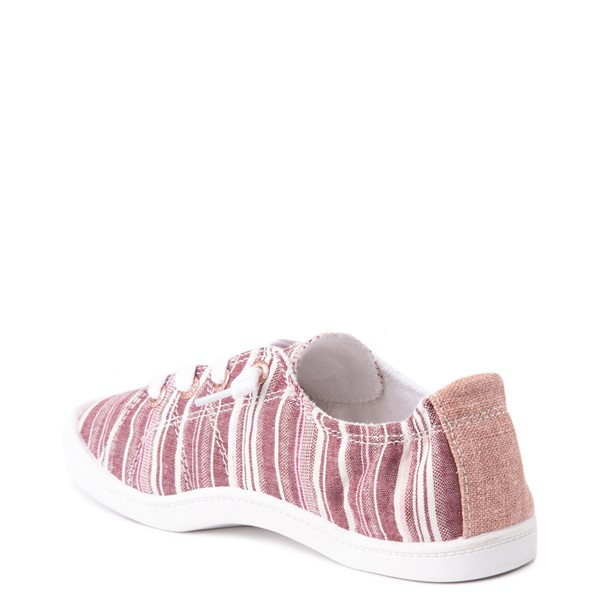 alternate view Womens Roxy Bayshore Casual Shoe - Brown StripesALT2