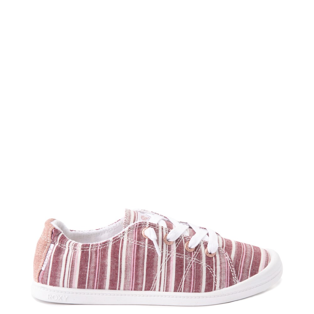 Womens Roxy Bayshore Casual Shoe - Brown Stripes