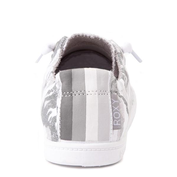 alternate view Womens Roxy Bayshore Casual Shoe - Gray CamoALT2B