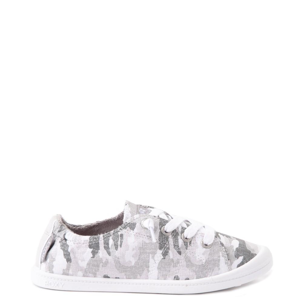 Womens Roxy Bayshore Casual Shoe - Gray Camo