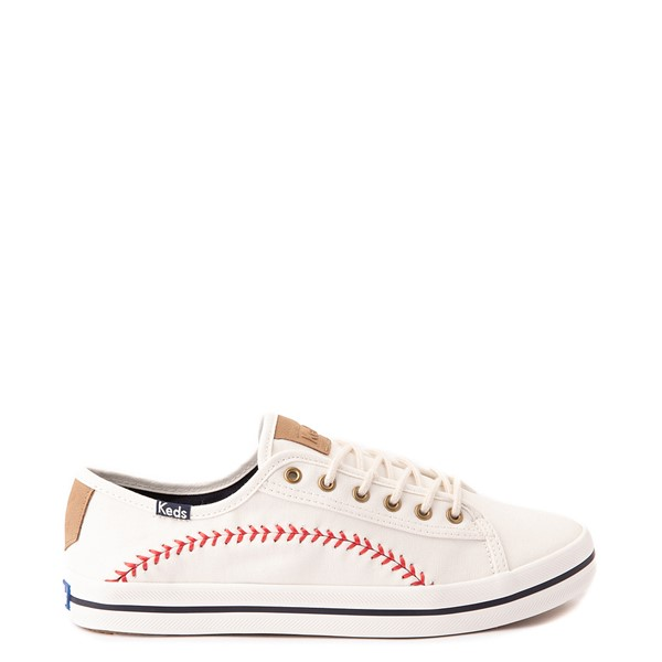 Main view of Womens Keds Kickstart Pennant Casual Shoe - Off White