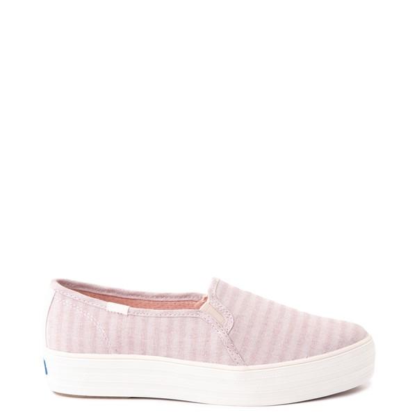 Main view of Womens Keds Triple Decker Platform Casual Shoe - Light Pink