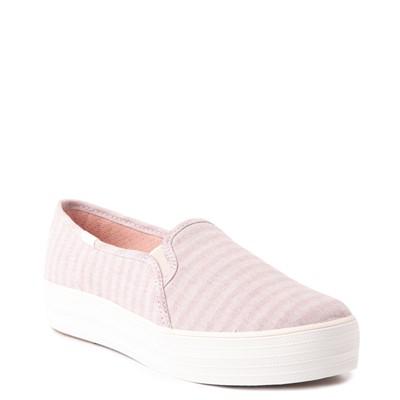 Alternate view of Womens Keds Triple Decker Platform Casual Shoe - Light Pink