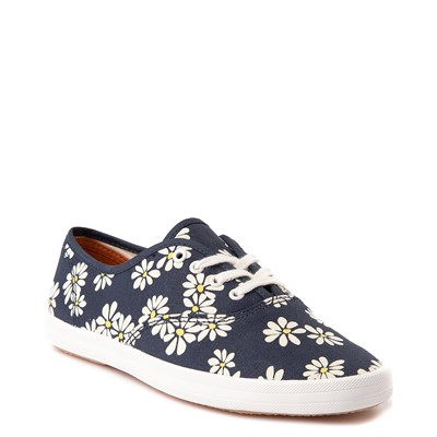 Alternate view of Womens Keds Champion Vintage Casual Shoe - Navy / Daisy