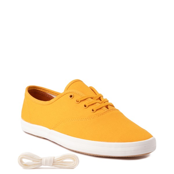 alternate view Womens Keds Champion Vintage Casual Shoe - YellowALT1