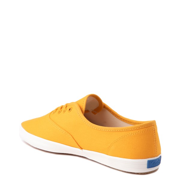 alternate view Womens Keds Champion Vintage Casual Shoe - YellowALT2