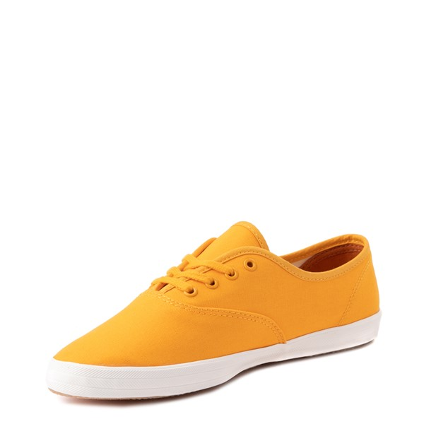 alternate view Womens Keds Champion Vintage Casual Shoe - YellowALT3