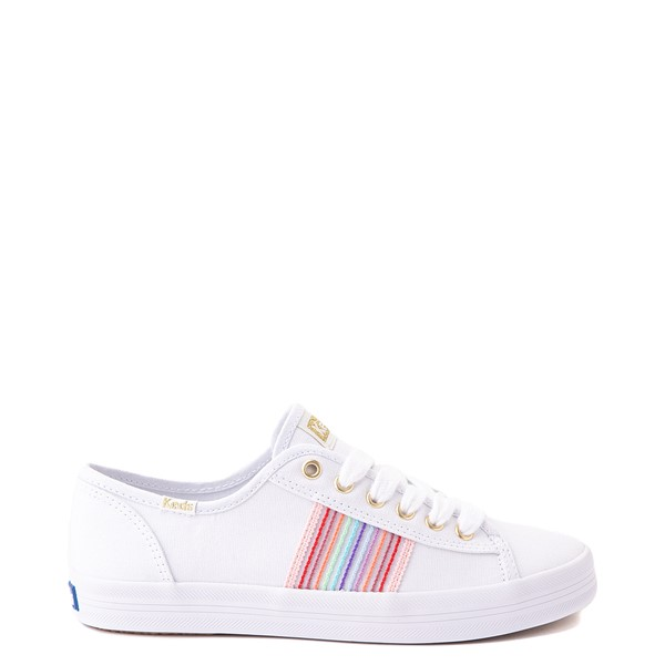 Main view of Womens Keds Kickstart Casual Shoe - White / Rainbow