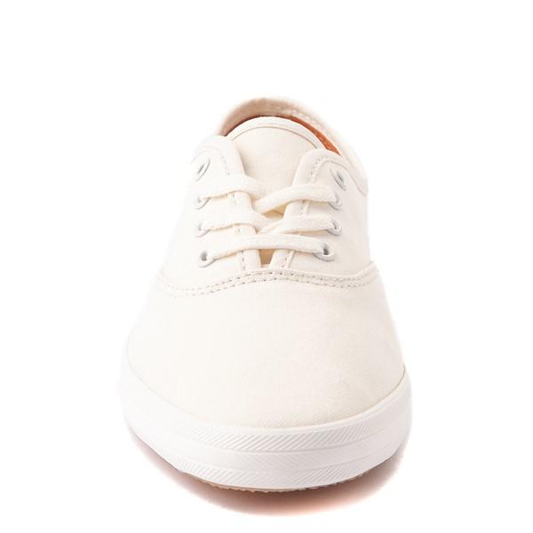 alternate view Womens Keds Champion Vintage Casual Shoe - WhiteALT4