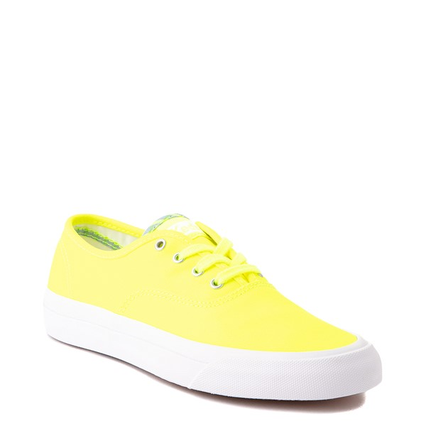 alternate view Womens Keds Surfer Casual Shoe - Neon YellowALT1