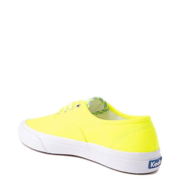 alternate view Womens Keds Surfer Casual Shoe - Neon YellowALT2
