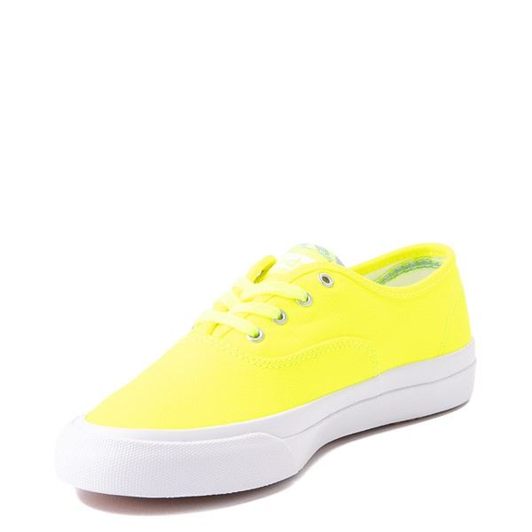 alternate view Womens Keds Surfer Casual Shoe - Neon YellowALT3