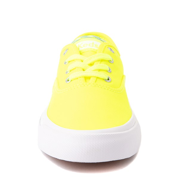 alternate view Womens Keds Surfer Casual Shoe - Neon YellowALT4