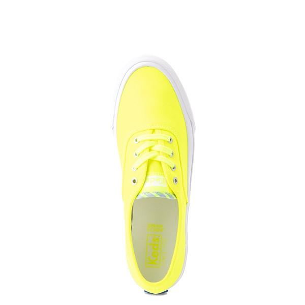 alternate view Womens Keds Surfer Casual Shoe - Neon YellowALT4B