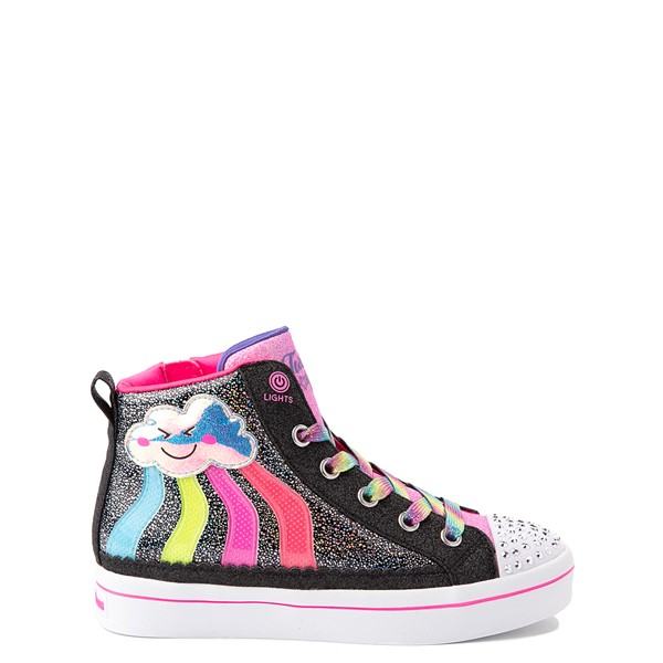 Skechers Twinkle Toes Twi-Lites 2.0 Seeing Rainbows Sneaker - Little Kid - Black