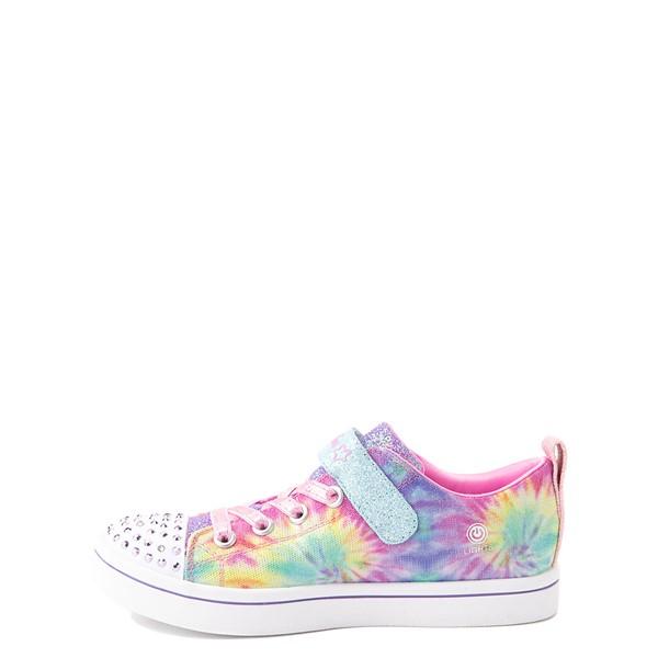 alternate view Skechers Twinkle Toes Sparkle Rayz Groovy Dreams Sneaker - Little Kid - Tie DyeALT1B