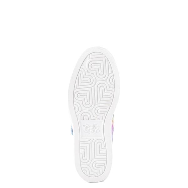 alternate view Skechers Twinkle Toes Sparkle Rayz Groovy Dreams Sneaker - Little Kid - Tie DyeALT3