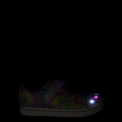 Alternate view of Skechers Twinkle Toes Sparkle Rayz Groovy Dreams Sneaker - Little Kid - Tie Dye