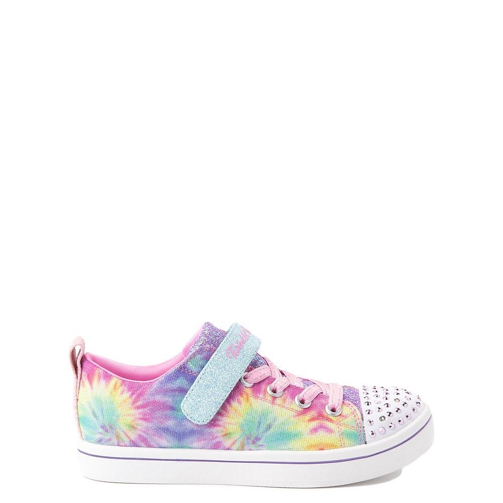 Skechers Twinkle Toes Sparkle Rayz Groovy Dreams Sneaker - Little Kid - Tie Dye