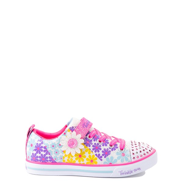 Skechers Twinkle Toes Sparkle Lite Super Bloom Sneaker - Little Kid - Multicolor