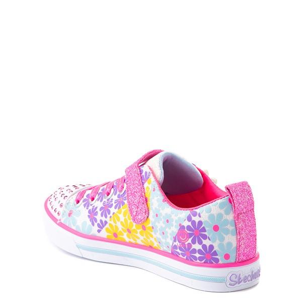 alternate view Skechers Twinkle Toes Sparkle Lite Super Bloom Sneaker - Little Kid - MulticolorALT1B