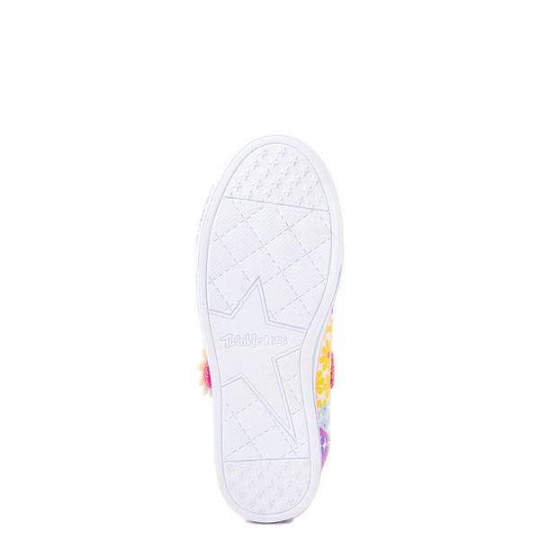 alternate view Skechers Twinkle Toes Sparkle Lite Super Bloom Sneaker - Little Kid - MulticolorALT3