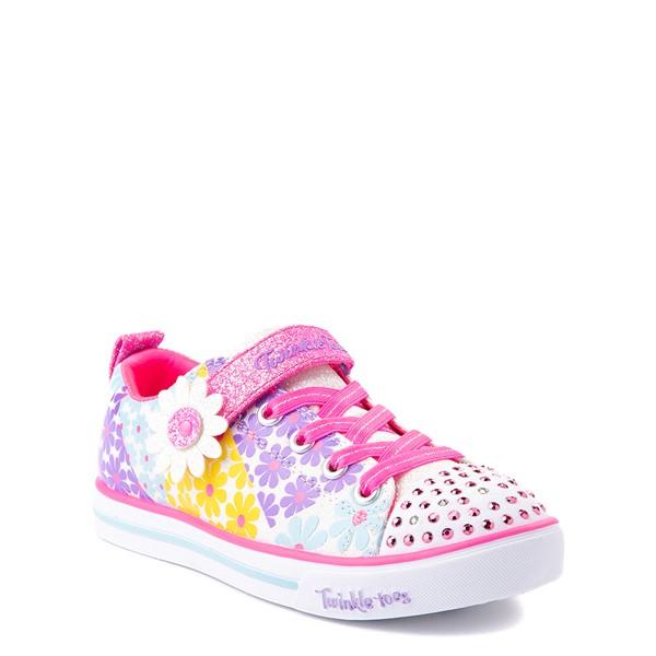 alternate view Skechers Twinkle Toes Sparkle Lite Super Bloom Sneaker - Little Kid - MulticolorALT5