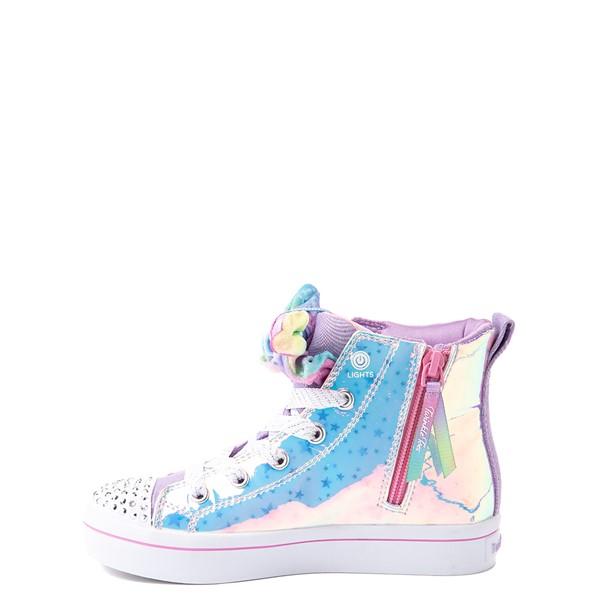 alternate view Skechers Twinkle Toes Twi-Lites Scrunchie Magic Sneaker - Little Kid - LavenderALT1B