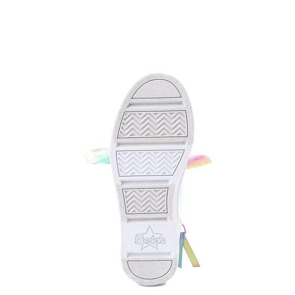 alternate view Skechers Twinkle Toes Twi-Lites Scrunchie Magic Sneaker - Little Kid - LavenderALT3
