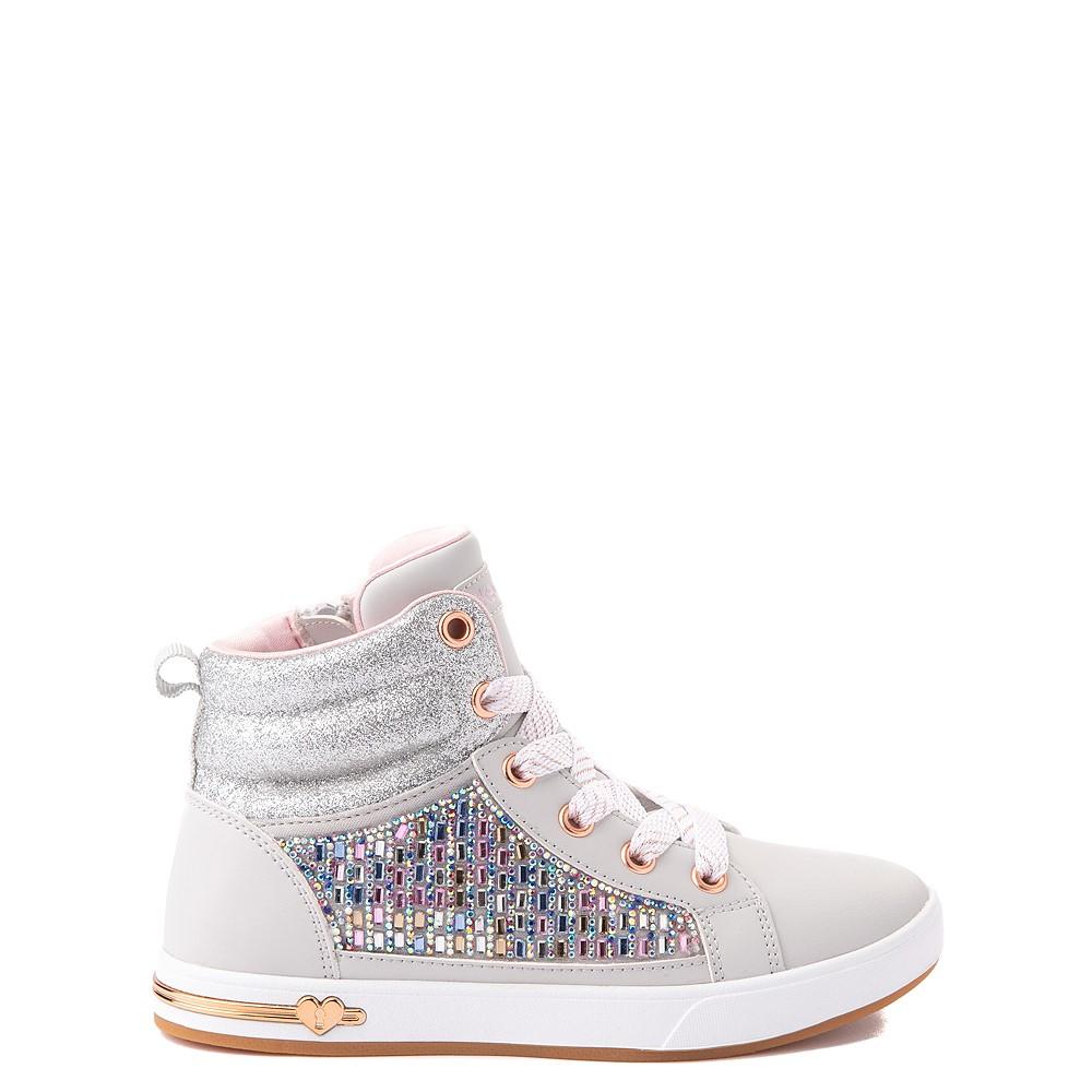 Skechers Shoutouts Gem Seeker Sneaker - Little Kid - Gray
