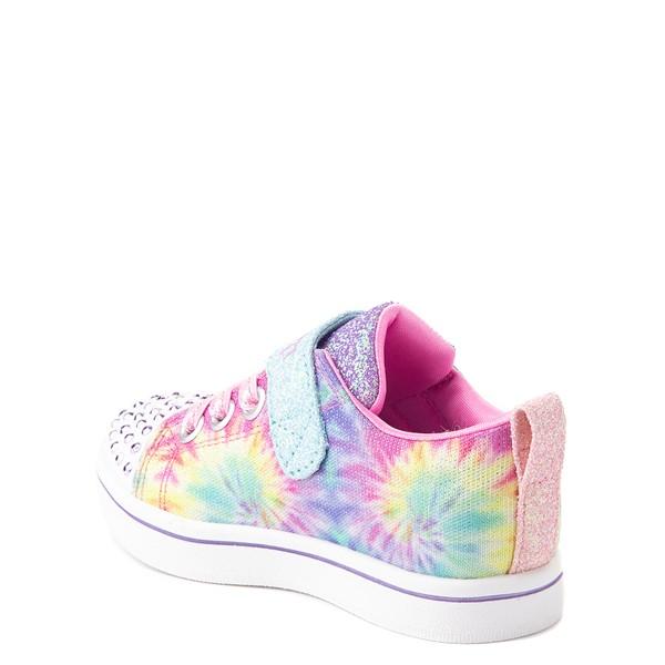 alternate view Skechers Twinkle Toes Sparkle Rayz Groovy Dreams Sneaker - Toddler - Tie DyeALT1B