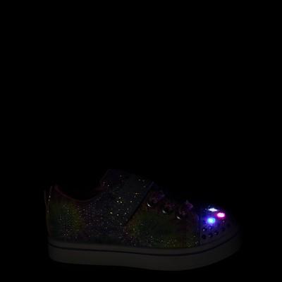 Alternate view of Skechers Twinkle Toes Sparkle Rayz Groovy Dreams Sneaker - Toddler - Tie Dye