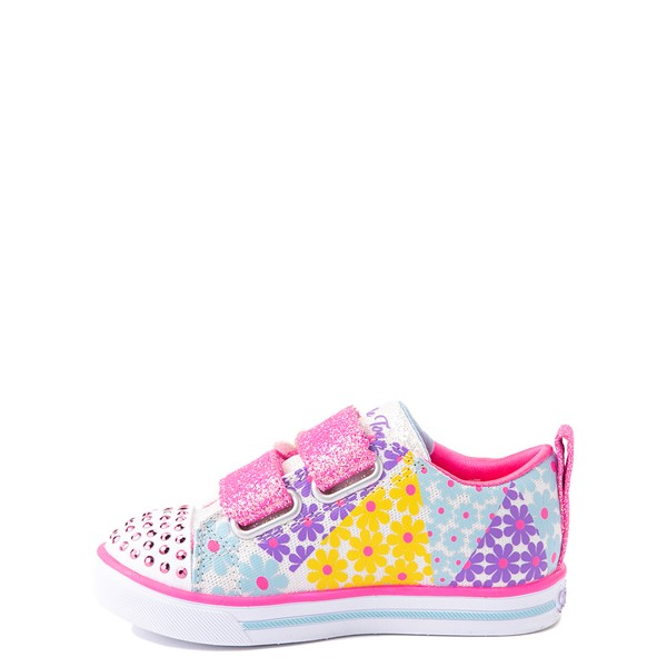 alternate view Skechers Twinkle Toes Sparkle Lite Super Bloom Sneaker - Toddler - MulticolorALT1B