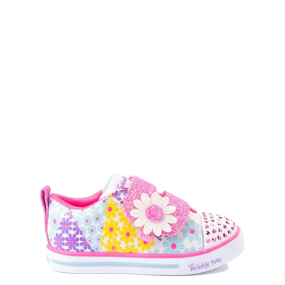 Skechers Twinkle Toes Sparkle Lite Super Bloom Sneaker - Toddler - Multicolor