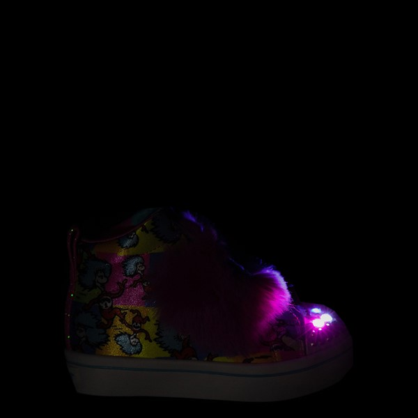 alternate view Skechers x Dr. Seuss Twi-Lites Playful Things Sneaker - Toddler /Little Kid - MulticolorALT1