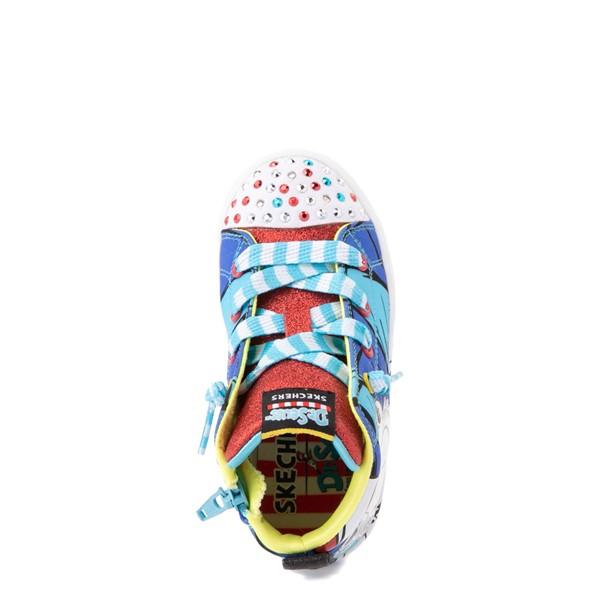 alternate view Skechers x Dr. Seuss Twi-Lites Having Fun Sneaker - Toddler - BlueALT2