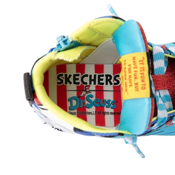 alternate view Skechers x Dr. Seuss Twi-Lites Having Fun Sneaker - Toddler - BlueALT2B